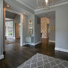 Contemporary Entry by Heather ODonovan Interior Design