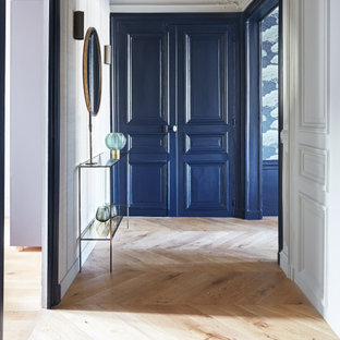 Chic and modern Parisian Apartment I Entrance