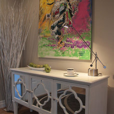 Contemporary Entry by Jil Sonia Interiors
