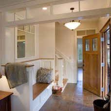 Traditional Entry by Thomas Lawton Architect
