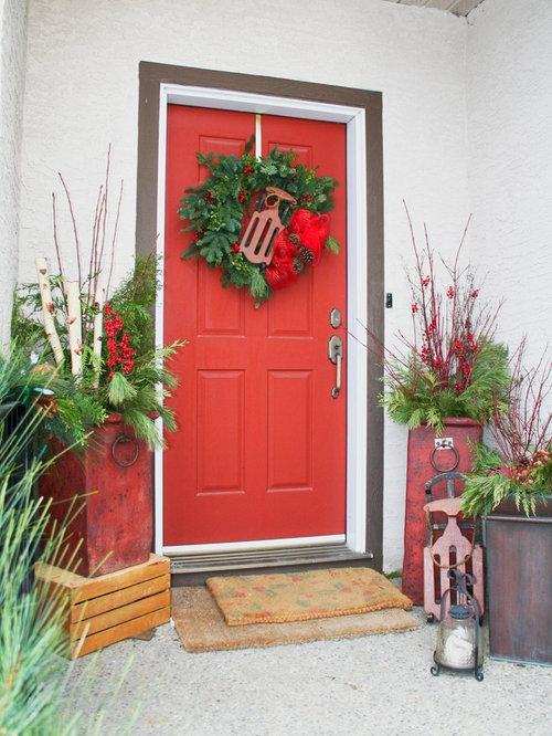 Christmas Planter | Houzz