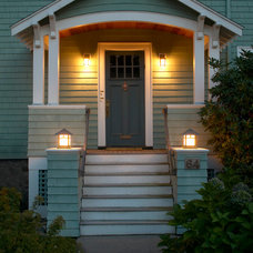 Craftsman Entry by Out of the Woods Construction & Cabinetry, Inc.