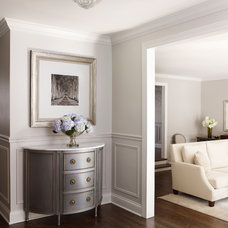 Traditional Entry by kim scodro interiors