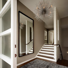 Midcentury Entry by Upscale Construction
