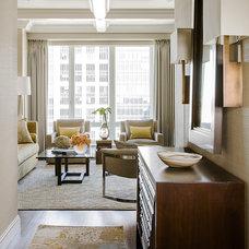 Contemporary Entry by Terrat Elms Interior Design