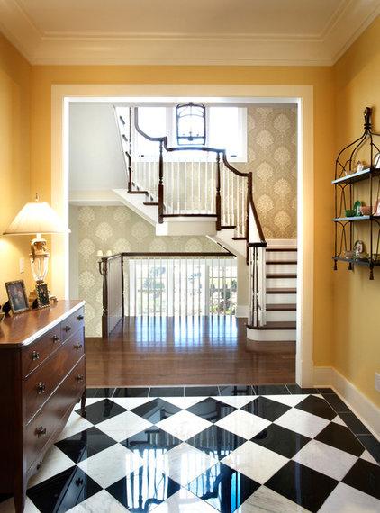 Traditional Entry by Curtiss W. Byrne Architect, LLC