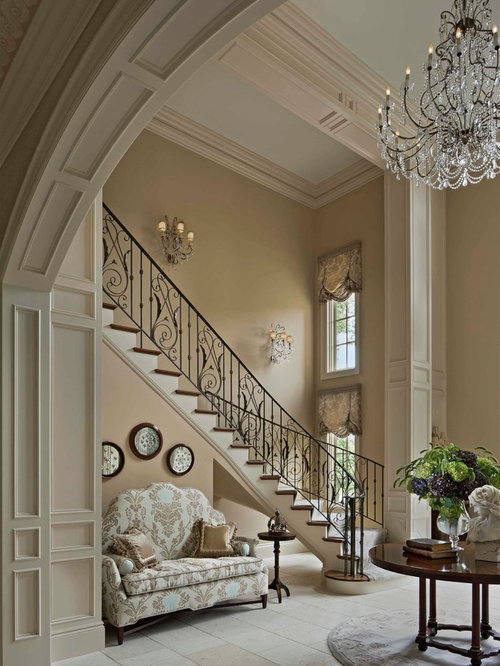 High ceiling entryway design ideas renovations photos for High ceiling entryway