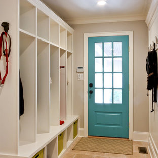 Classic Coastal Colonial Renovation - the Mudroom