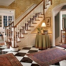 Traditional Entry by Diane Burgoyne Interiors