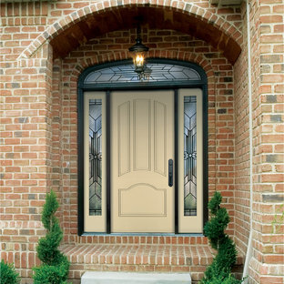 Classic-Craft Canvas door painted Friendly Yellow
