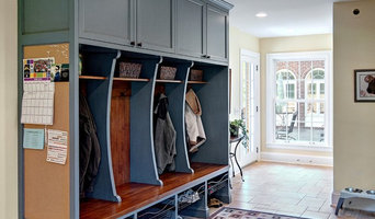 Classic mudroom cubbies