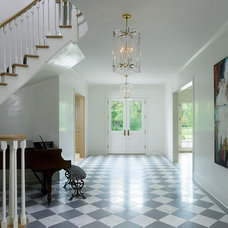 Traditional Entry by Reynolds Architecture- Design & Construction