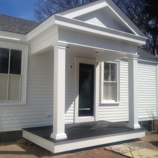 Classic Victorian Exterior Refresh - New side entrance