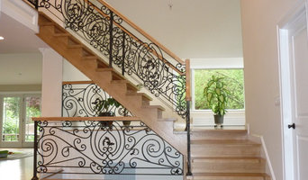 classic wrought iron balustrade