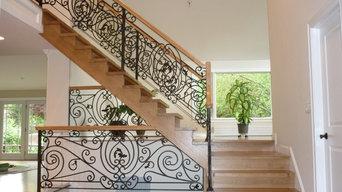 classic wrought iron balustrade