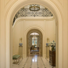 Traditional Entry by Lencioni Construction