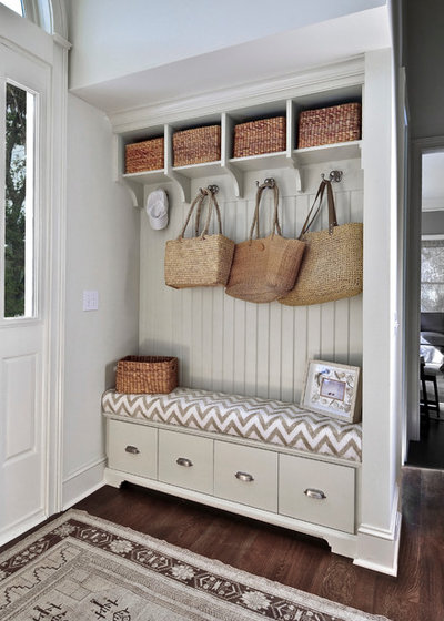 Beach Style Entry by Robert Paige Cabinetry LLC