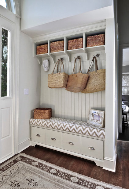 Beach Style Entry by K & K Custom Cabinets LLC