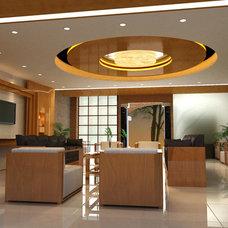 Contemporary Entry by Vicki Bergelt Interior Design