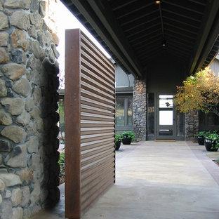 Clegg Residence Entry