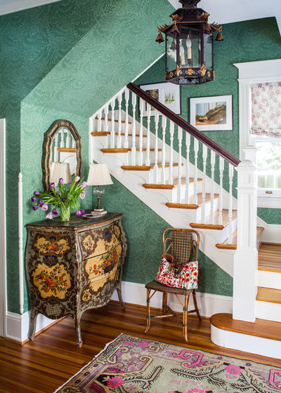 Traditional Entrance by Susan Nelson Interiors