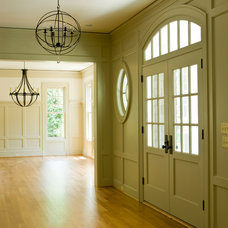 Traditional Entry by James McDonald Associate Architects, PC