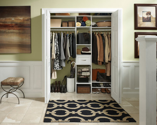 Modern Foyer Closets : Entryway closet houzz
