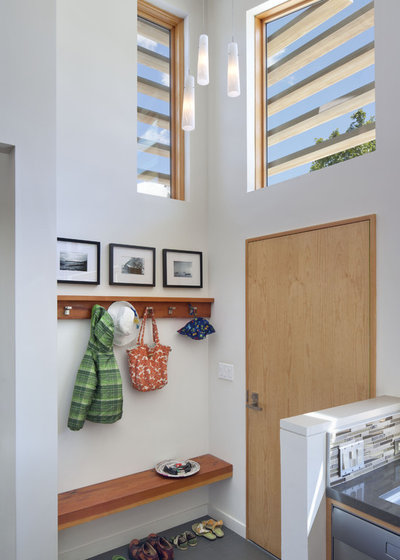 Contemporary Entry by Ana Williamson Architect