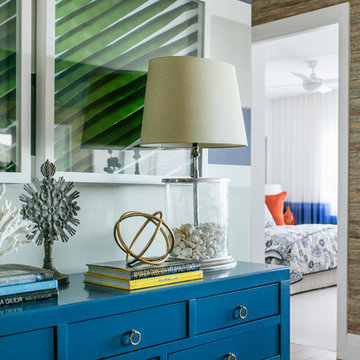 Coastal Hampton's inspired apartment