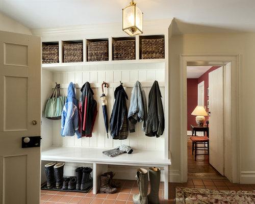 Foyer Seating Nyc : Farmhouse entryway design ideas remodels photos