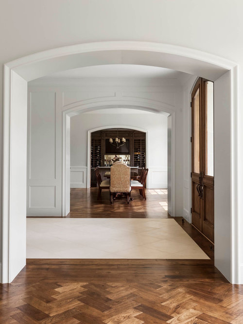 Foyer Design Ideas Renovations Photos With Travertine