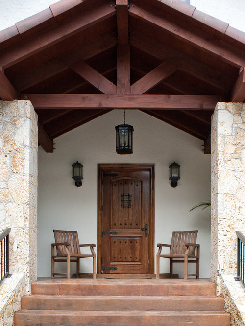 Houzz Rustic Foyer : Best rustic miami entryway design ideas remodel pictures