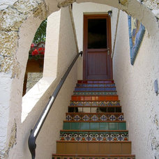 Mediterranean Entry by Jennifer Stone Interior Design, Inc.