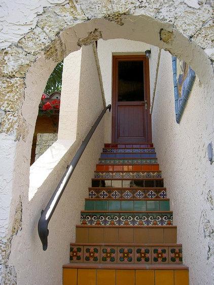 Mediterranean Entry by Jennifer Stone Interior Design, Inc.