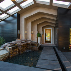 Contemporary Entry by Legacy Construction & Development, Inc.