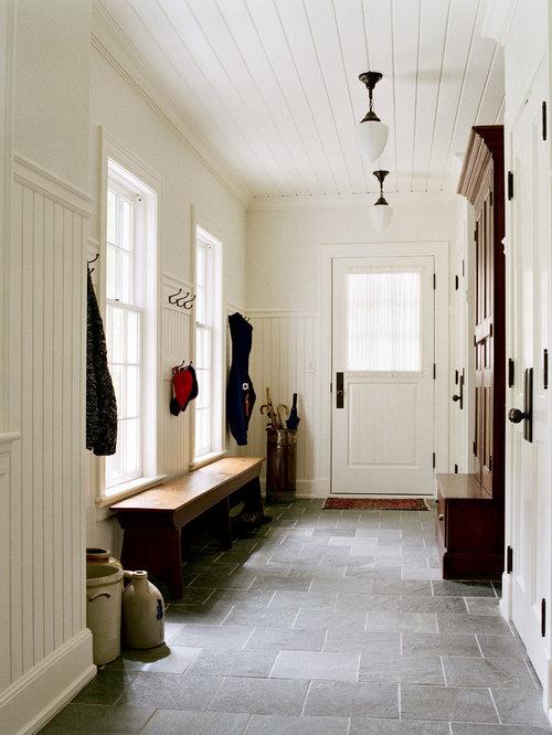 Linoleum Mudroom Floor Home Design Ideas Pictures