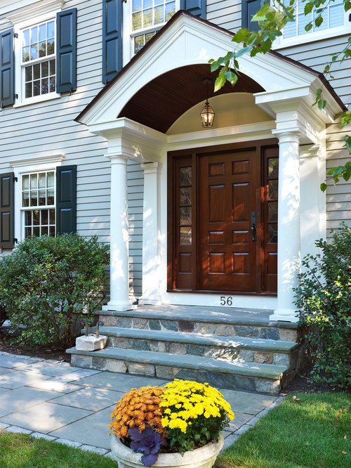 Colonial Entryway Home Design Ideas, Pictures, Remodel And Decor