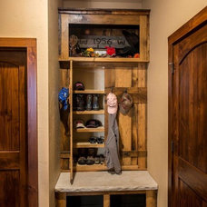 Rustic Entry by Cabinet Concepts by Design