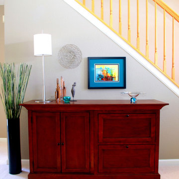 Colorful, Contemporary Makeover, Broomfield CO