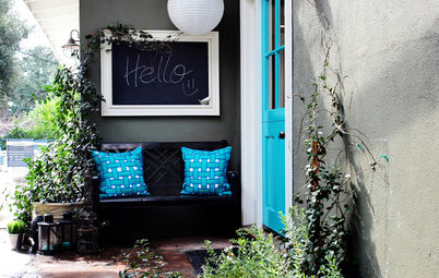 8 Low-Cost Ways to Personalize a Front Entrance