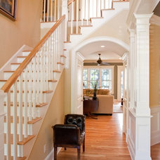 Traditional Entry by Artistic Design and Construction, Inc