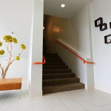 Contemporary Entry by Stiles   Fischer Interior Design
