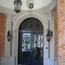 Traditional Entry by American Masonry Supply, Inc.