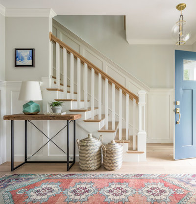 Farmhouse Entry by Jamie Keskin Design