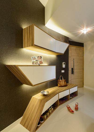 Modern Entry Condominium (Modern ContemporaryTheme)