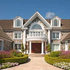 Traditional Entry by Colangelo Associates Architects