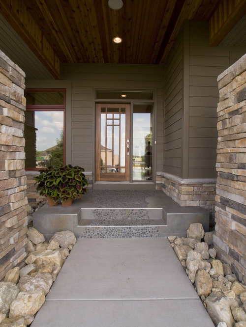 Timber bark hardie siding houzz for Bark house siding