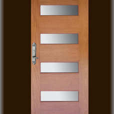 Contemporary Entry by Doors by Decora