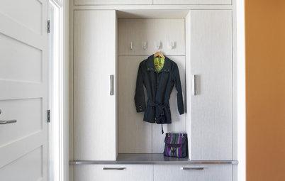 15 solutions gain de place pour tirer parti d'une petite entrée
