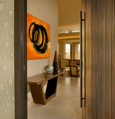 modern entry by Angelica Henry Design